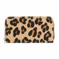 Portafoglio in pelle di leopardo