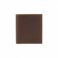 Titolare della carta Wallet con clip in pelle