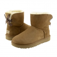 Stivali in pelle 1016501 Mini Bailey Bow II UGG