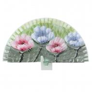Fan design verde quattro fiori