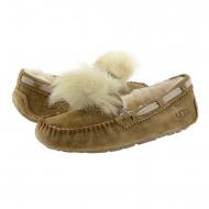 Sneakers in pelle 1019015 Dakota Pom Pom UGG
